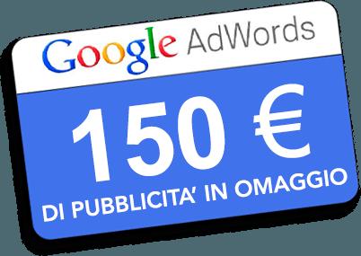 pubblicità omaggio adwords